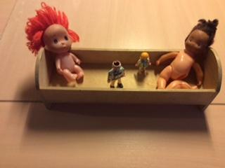 Fantasierijk speelgoed lokt taal uit.